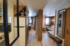 rénovation appartement à Valmorel Carte Blanche