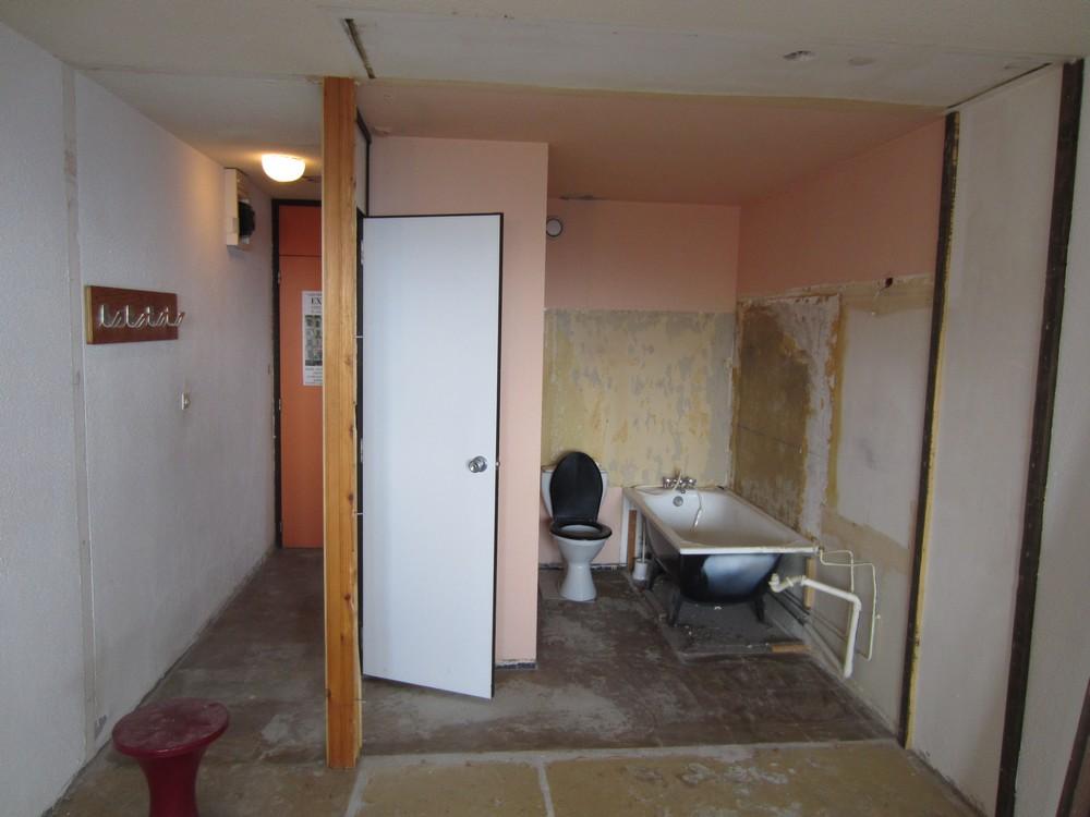 Appartement mis a nu avant travaux