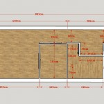Plan avec cotes - image extraite d'un plan 3D