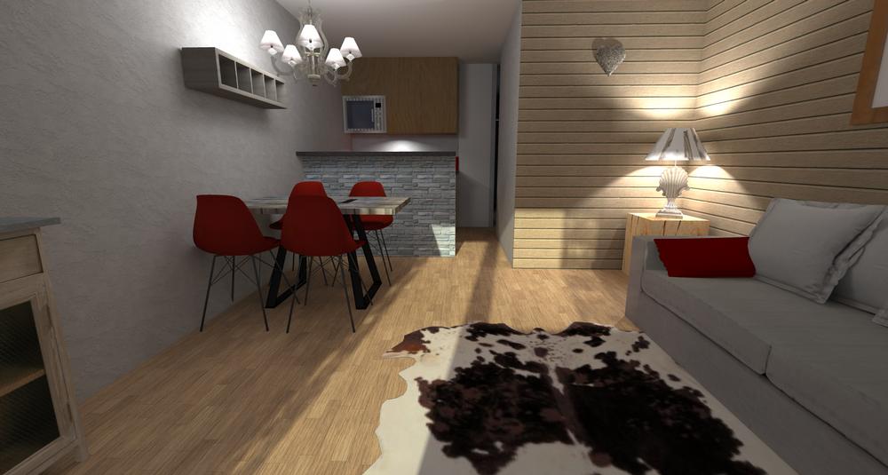 Projet 3D-cuisine ouverte